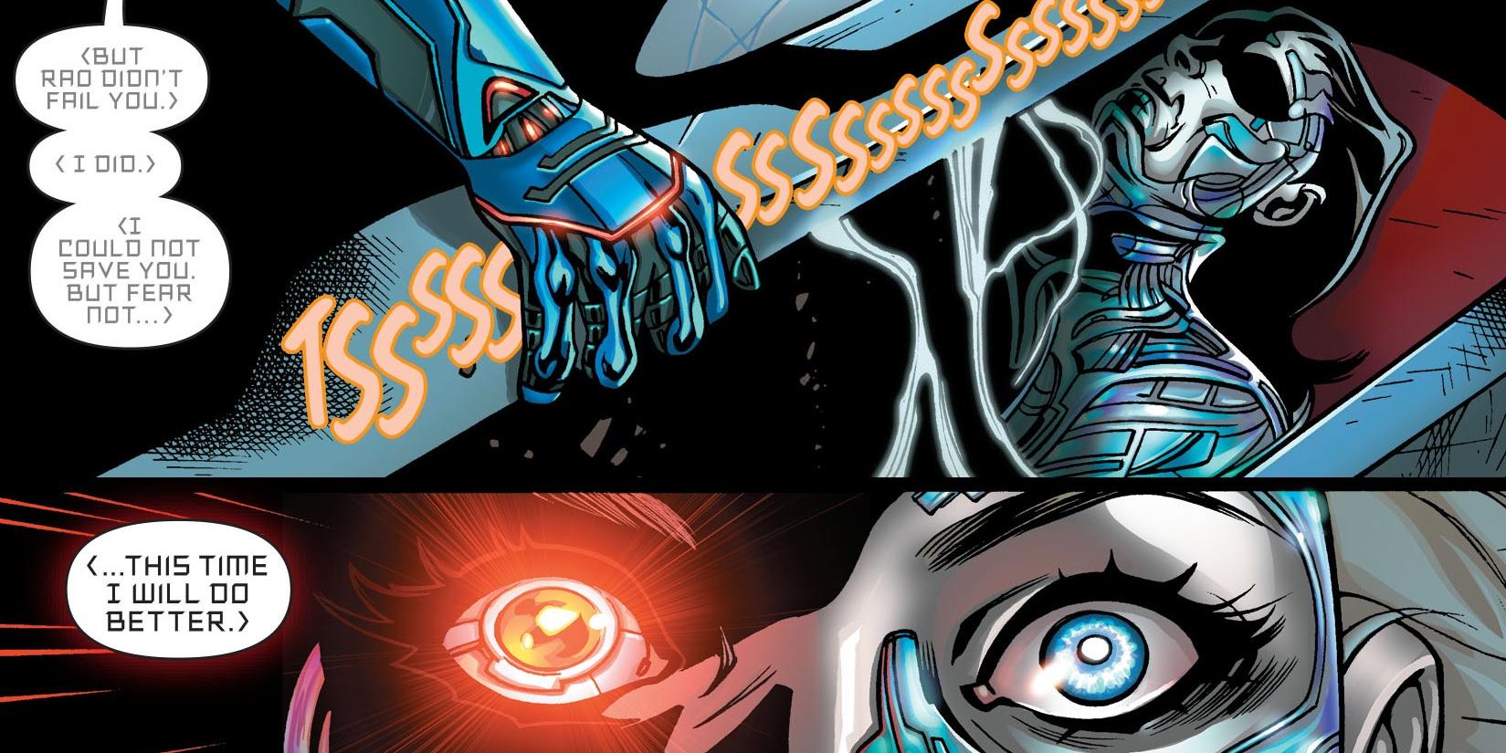 Eradicator New ... Cyborg Superman New 52