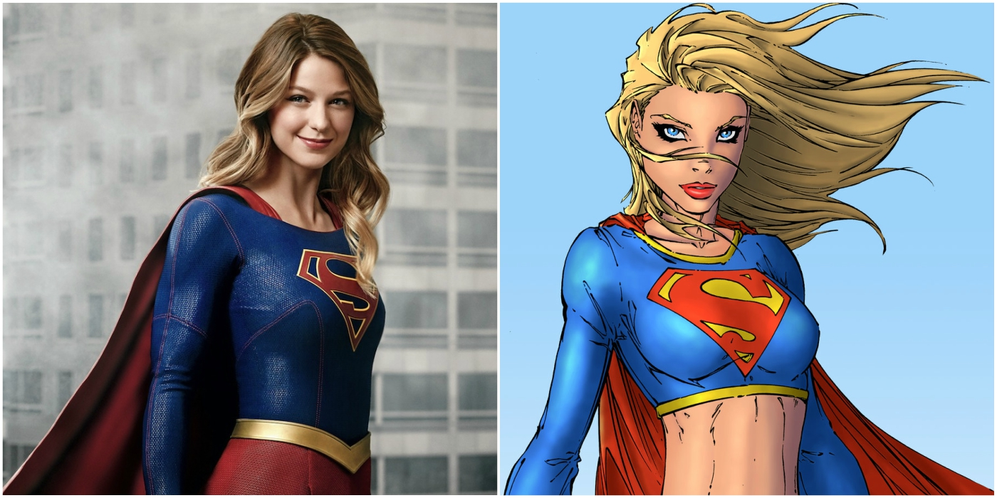 Supergirl in comics and Arrowverse TV