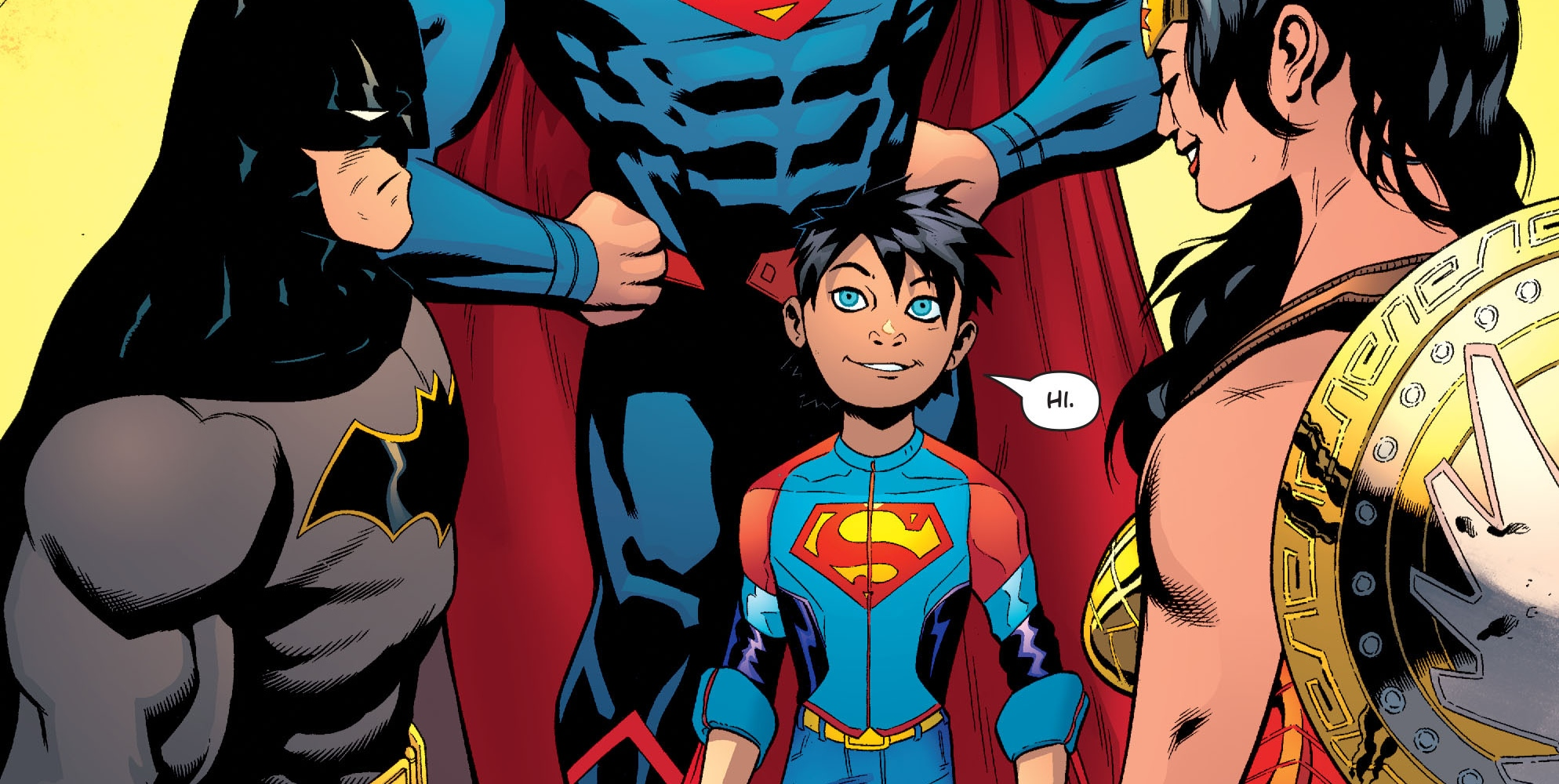 superman�s son is dc�s new superboy