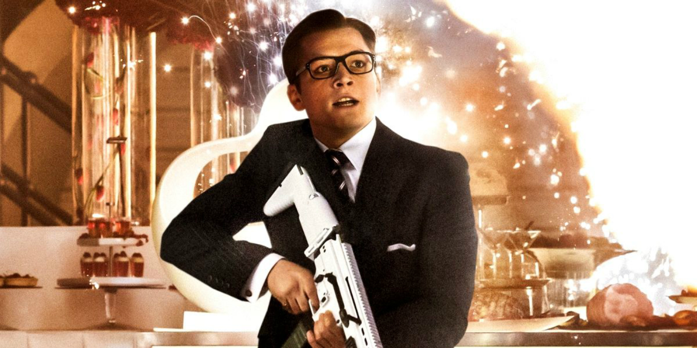 Taron Egerton Eggsy Kingsman The Secret Service