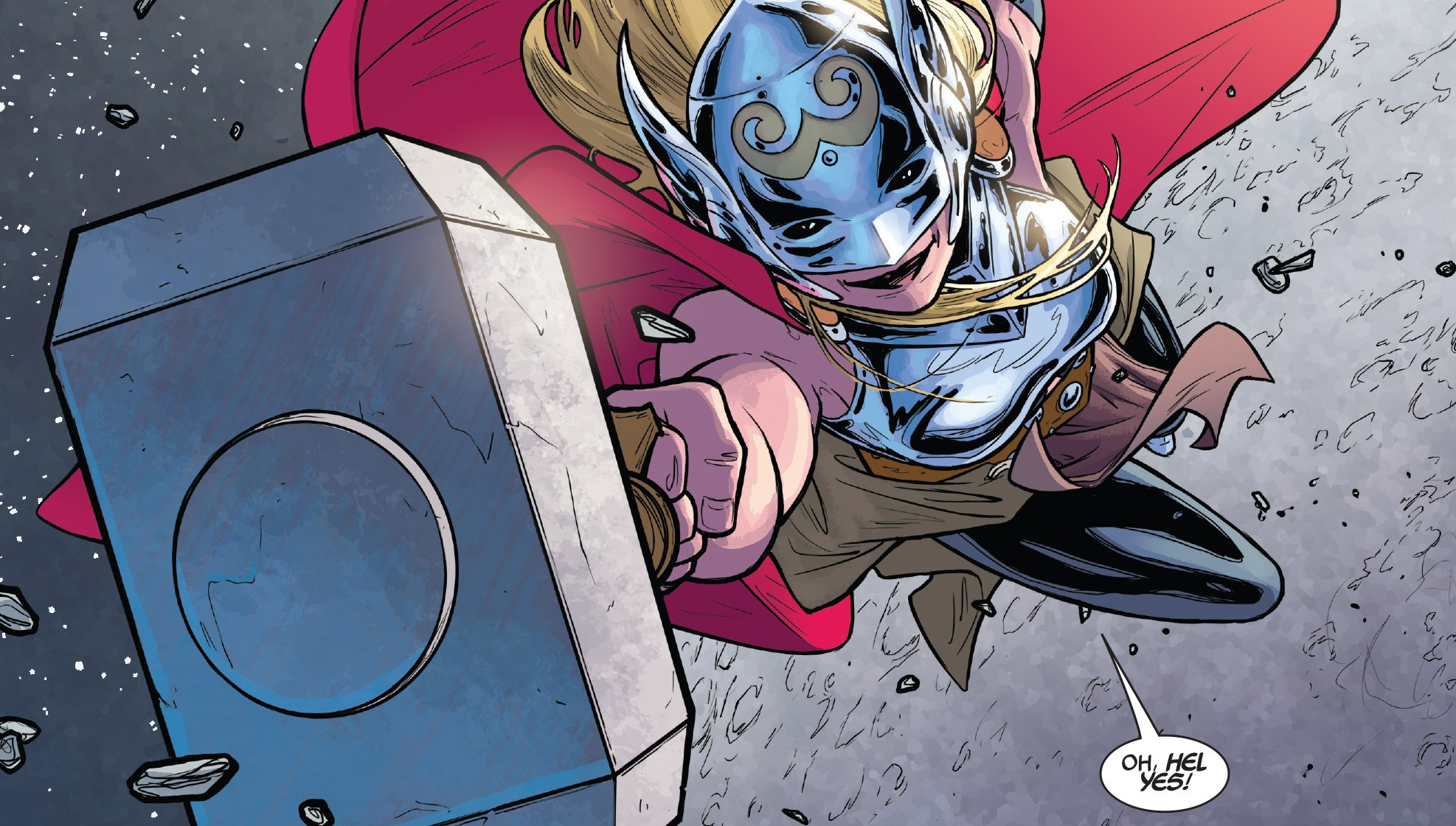 marvel just changed what we know about thor s hammer mjolnir
