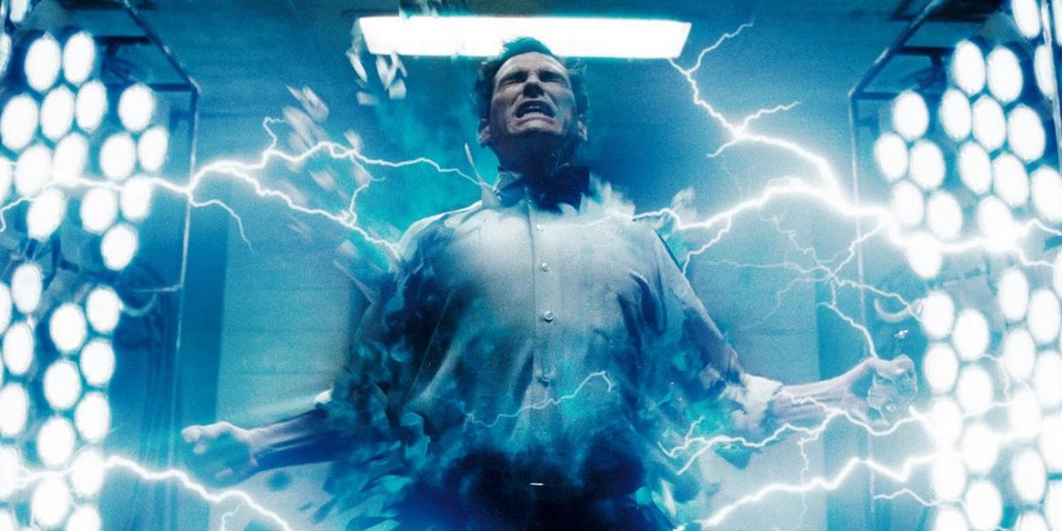Watchmen - Dr Manhattan transformation