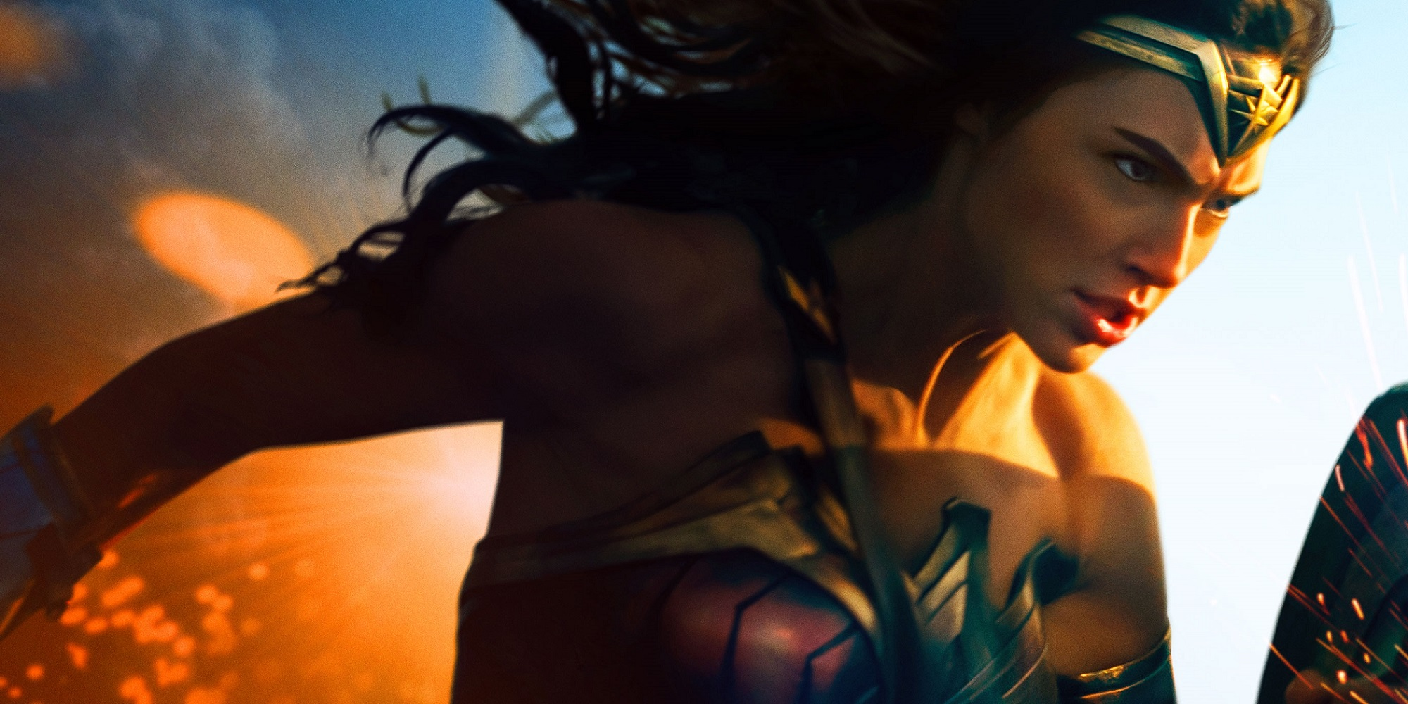 Wonder Woman movie poster courage theme Wonder Woman Director on Making Diana a Multidimensional Superhero