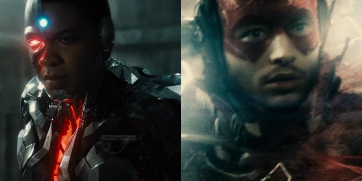 Batman V Superman - Cyborg and The Flash