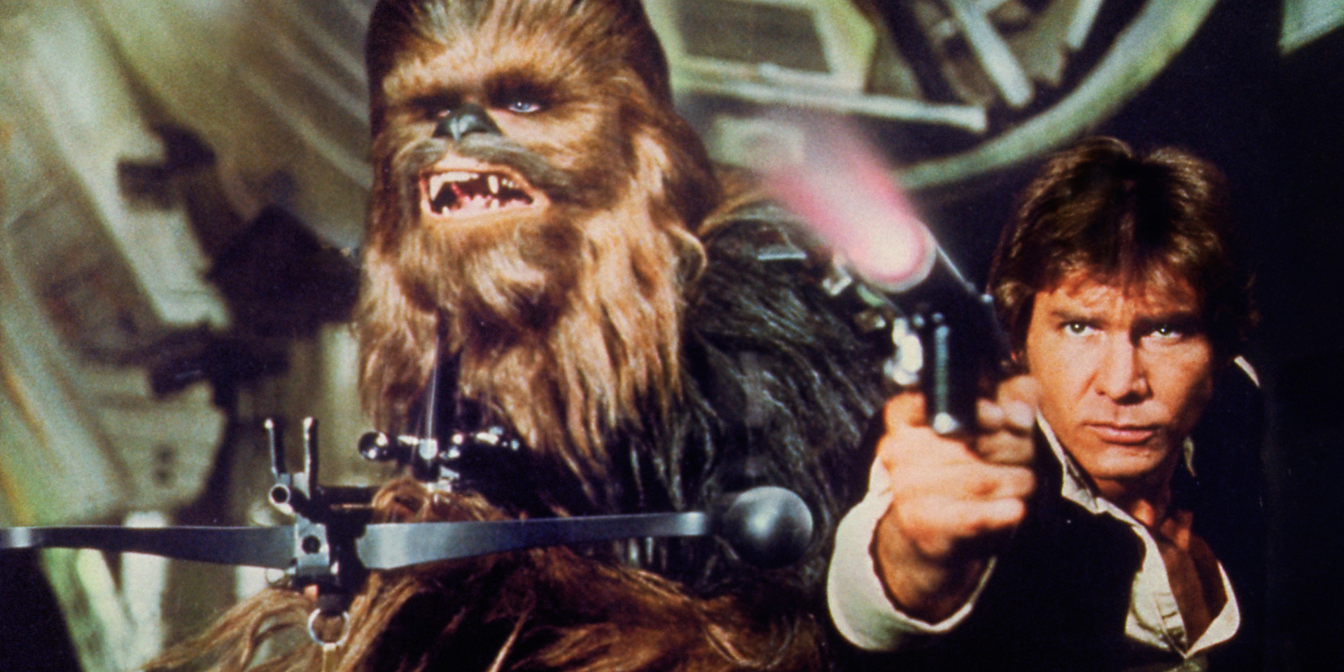 Han Solo and Chewbacca Blasters