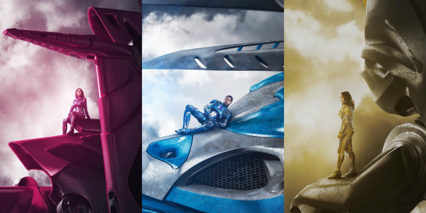 2017 Movie Posters: Power Rangers Posters Feature The Rangers' Zords; NYCC