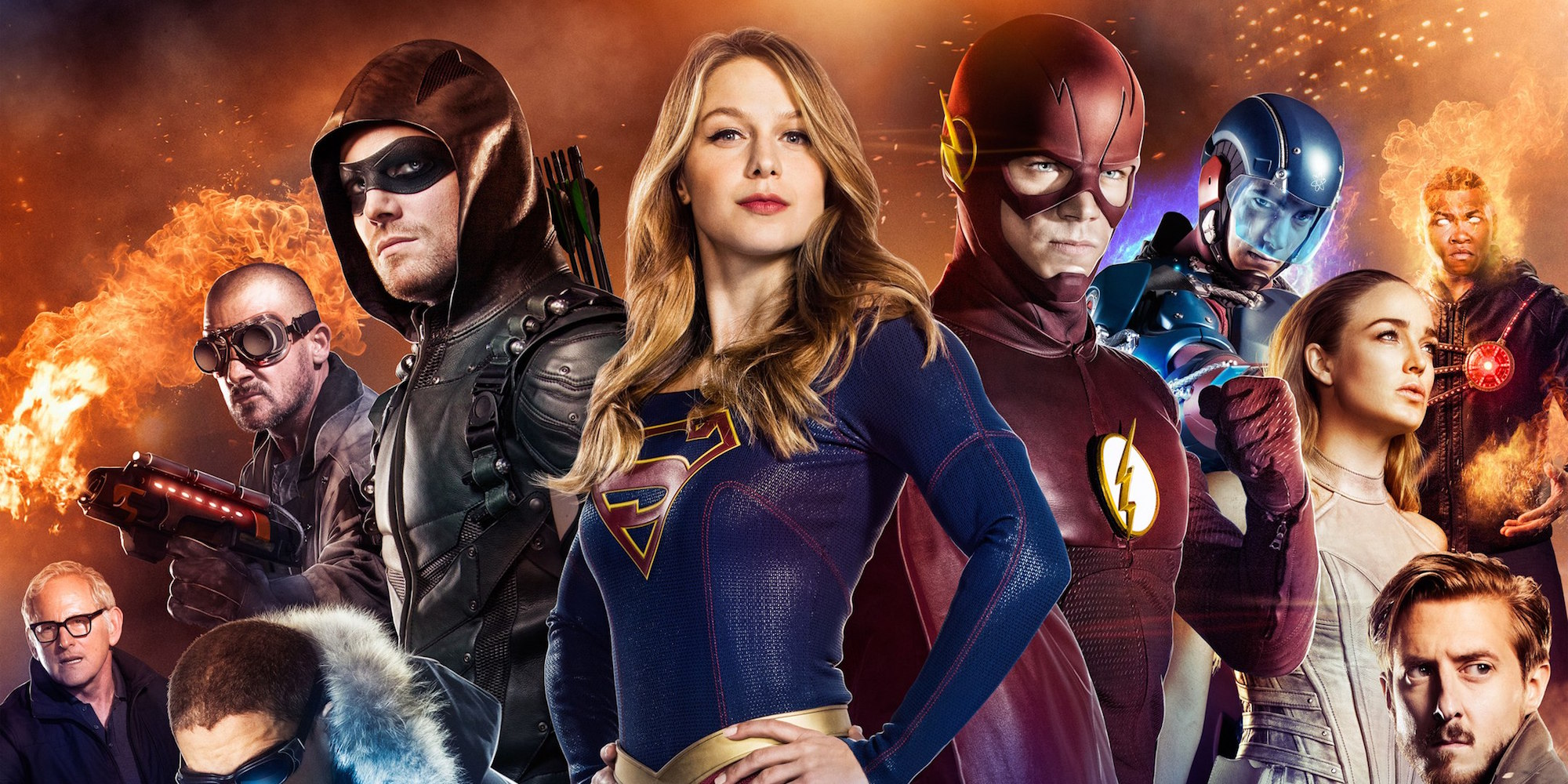 Arrow, Flash, Supergirl & Legends Crossover