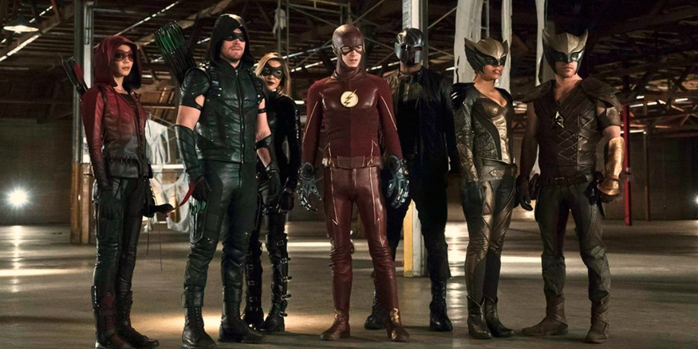 Arrow Flash Arrowverse Lineup