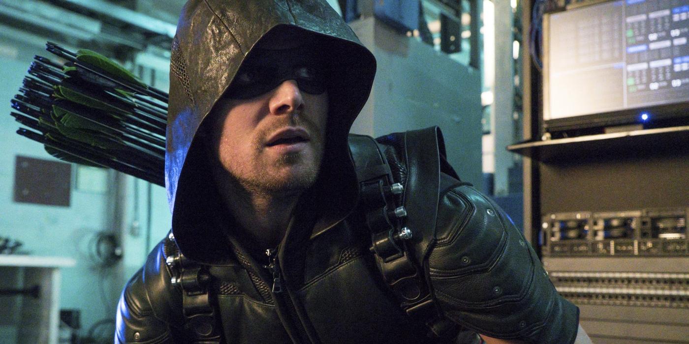 Green Arrow is Stephen Amell