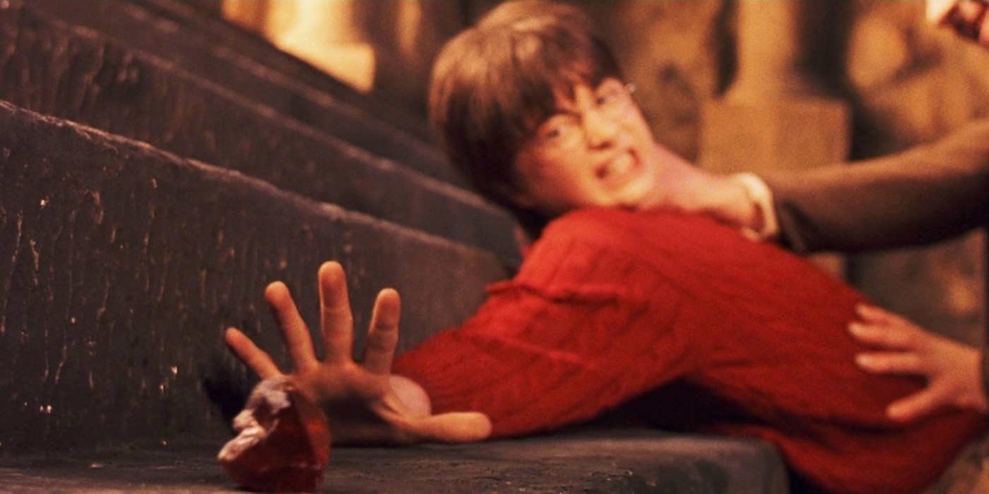 the british connection in the movie harry potter and the sorcerers stone Adaptation of the first of jk rowling's popular children's novels about harry potter, a boy who learns on his eleventh birthday that he is the orphaned son of two powerful wizards and possesses.