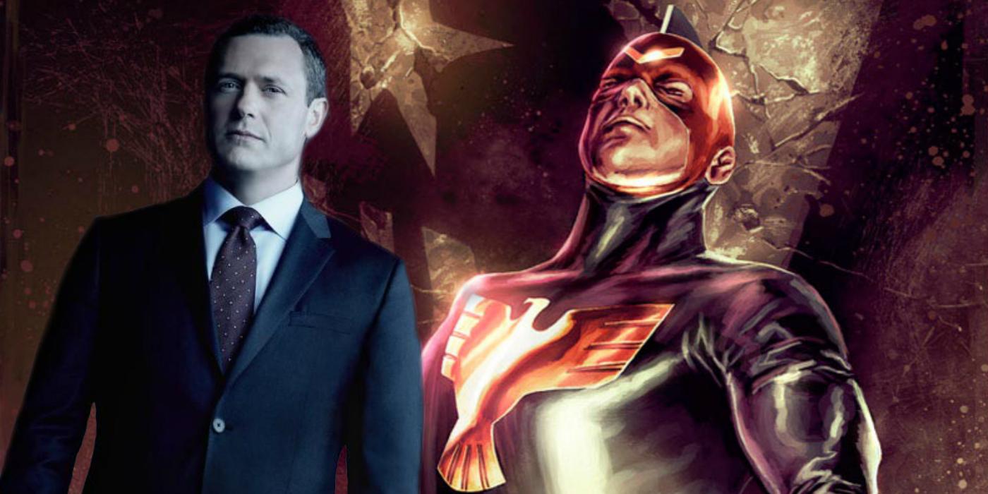 Jeffrey Mace (Jason O'Mara) as Patriot for Agents of S.H.I.E.L.D.