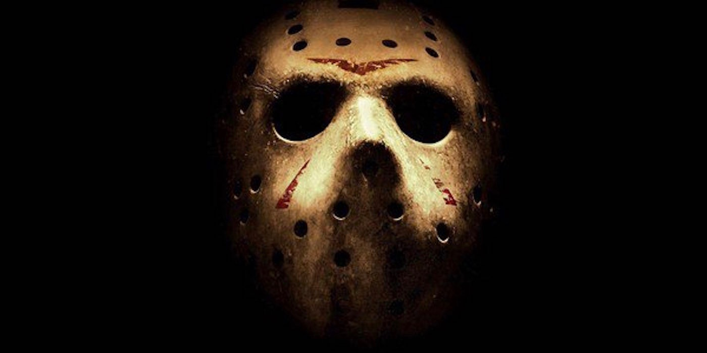 Jason Voorhees mask from Friday the 13th 15 best horror movie masks of all time screen rant