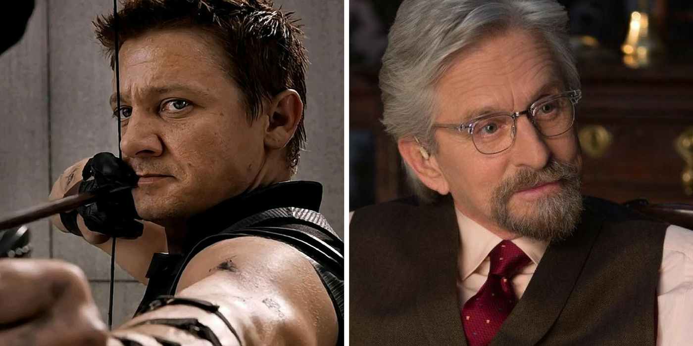 Jeremy Renner & Michael Douglas Hint At Marvel Team-Up