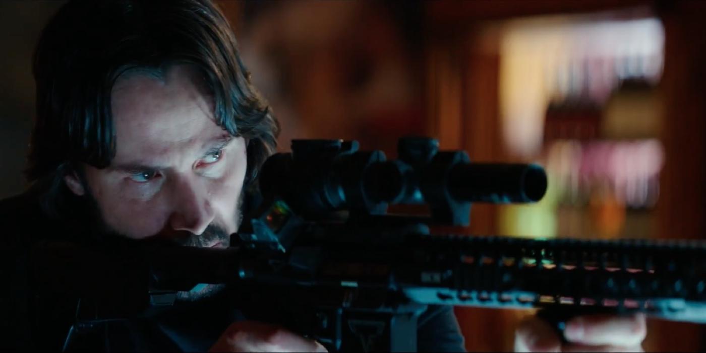 Keanu Reeves John Wick 2 Trailer