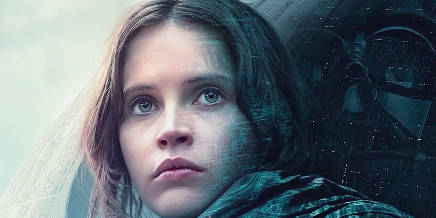 Felicity Jones Rogue One a Star Wars Story Poster 2