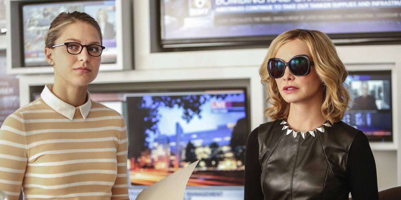 Supergirl Season 2 Premiere Kara Danvers Cat Grant