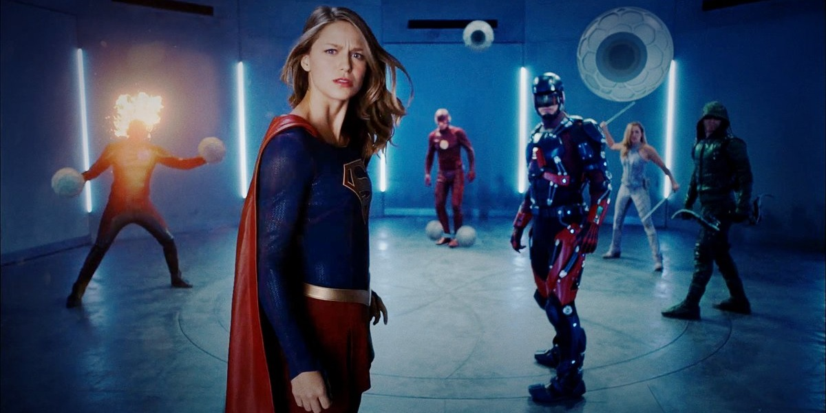 Supergirl Joins The CW Club in Superhero Fight Club 2.0
