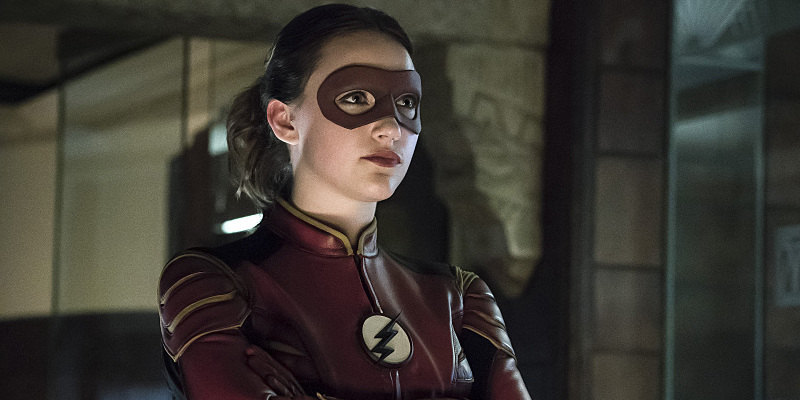 Check Out Jesse Quick S Cool Costume In The Flash