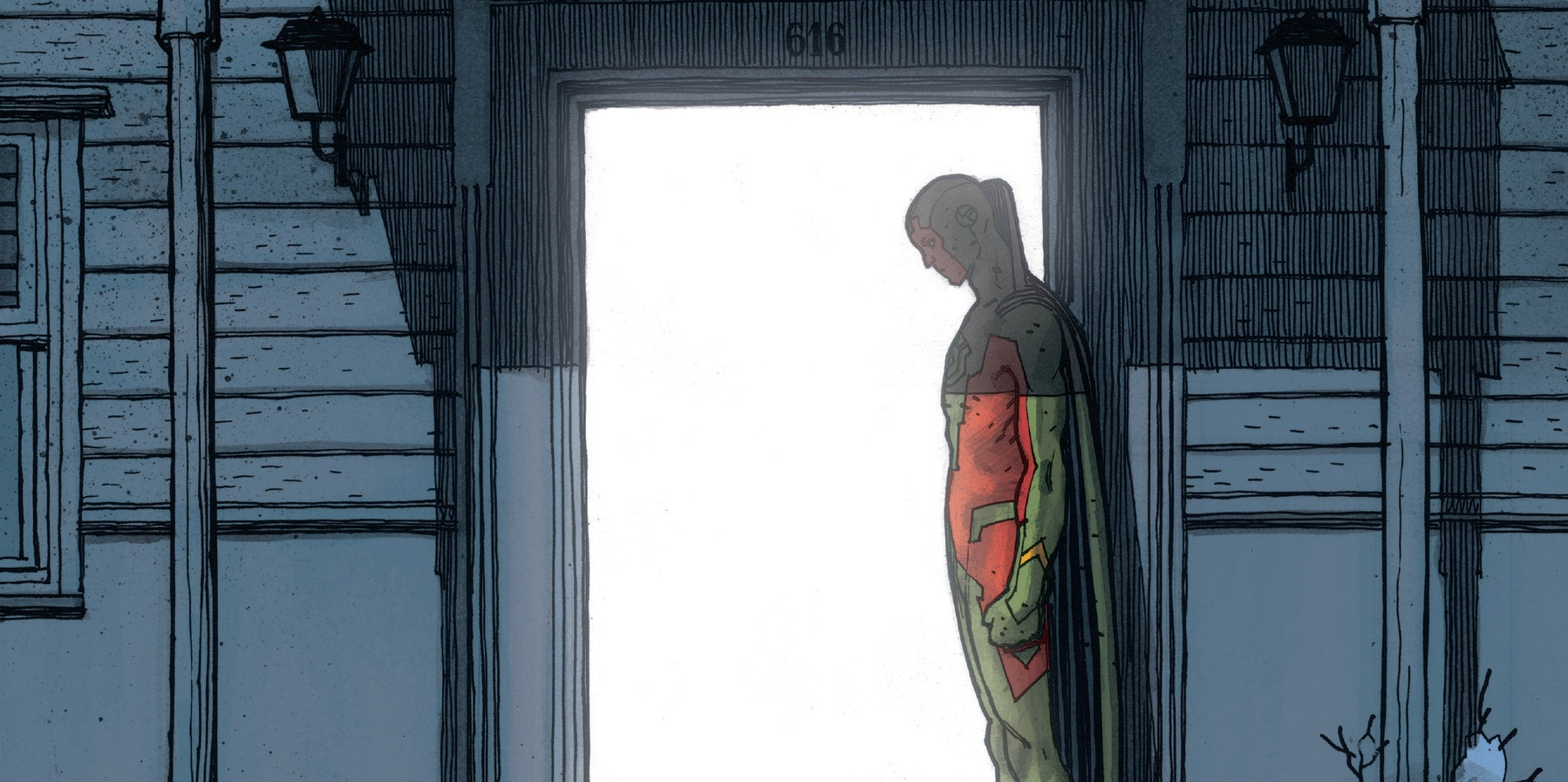 The Vision 12 Marvel comic Vision