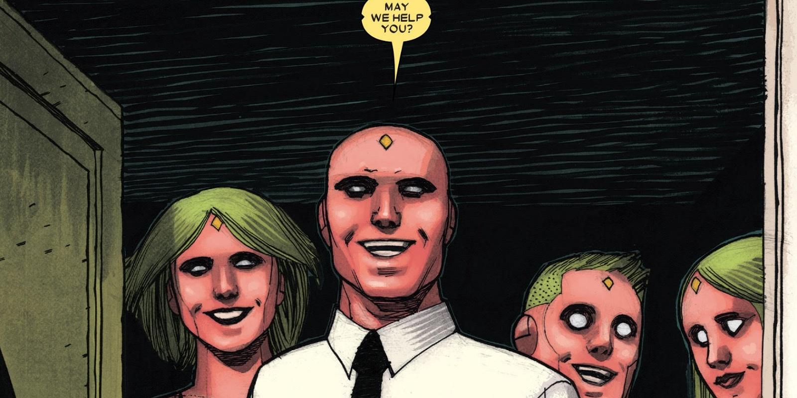 The Vision family Marvel by Gabriel Hernandez Walta Marvel Marvels Vision Comic Ends in Tragedy For [SPOILER]