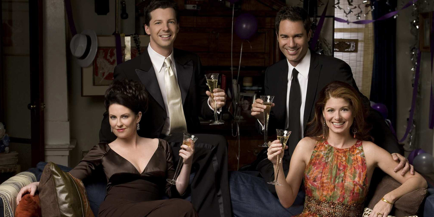 The cast of Will and Grace NBC