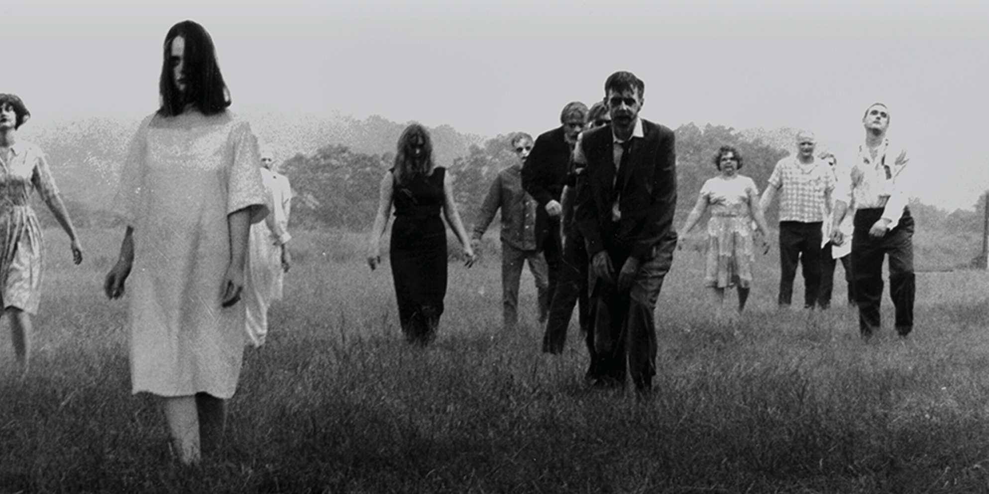 Zombies in Night of the Living Dead