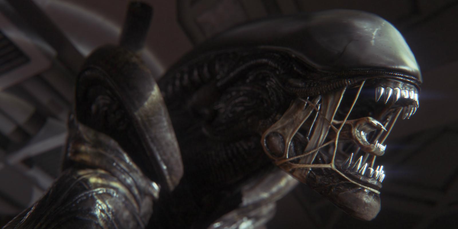 Alien: Covenant Xenomorph set photos