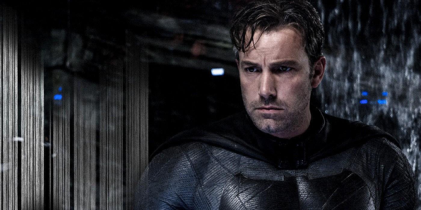 Ben Affleck as Batman in Batman V Superman