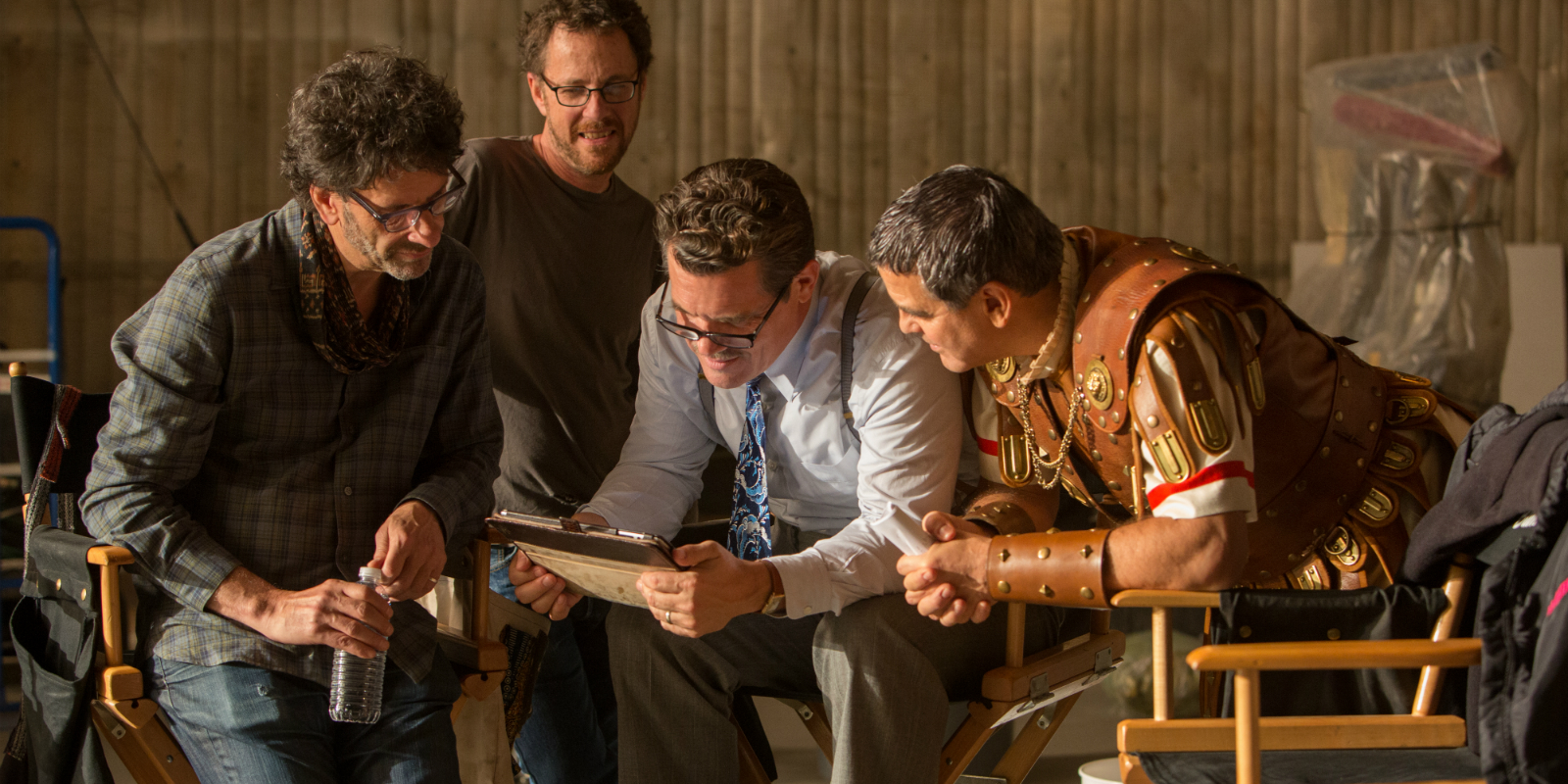 The Coen Brothers on the Hail, Caesar! set
