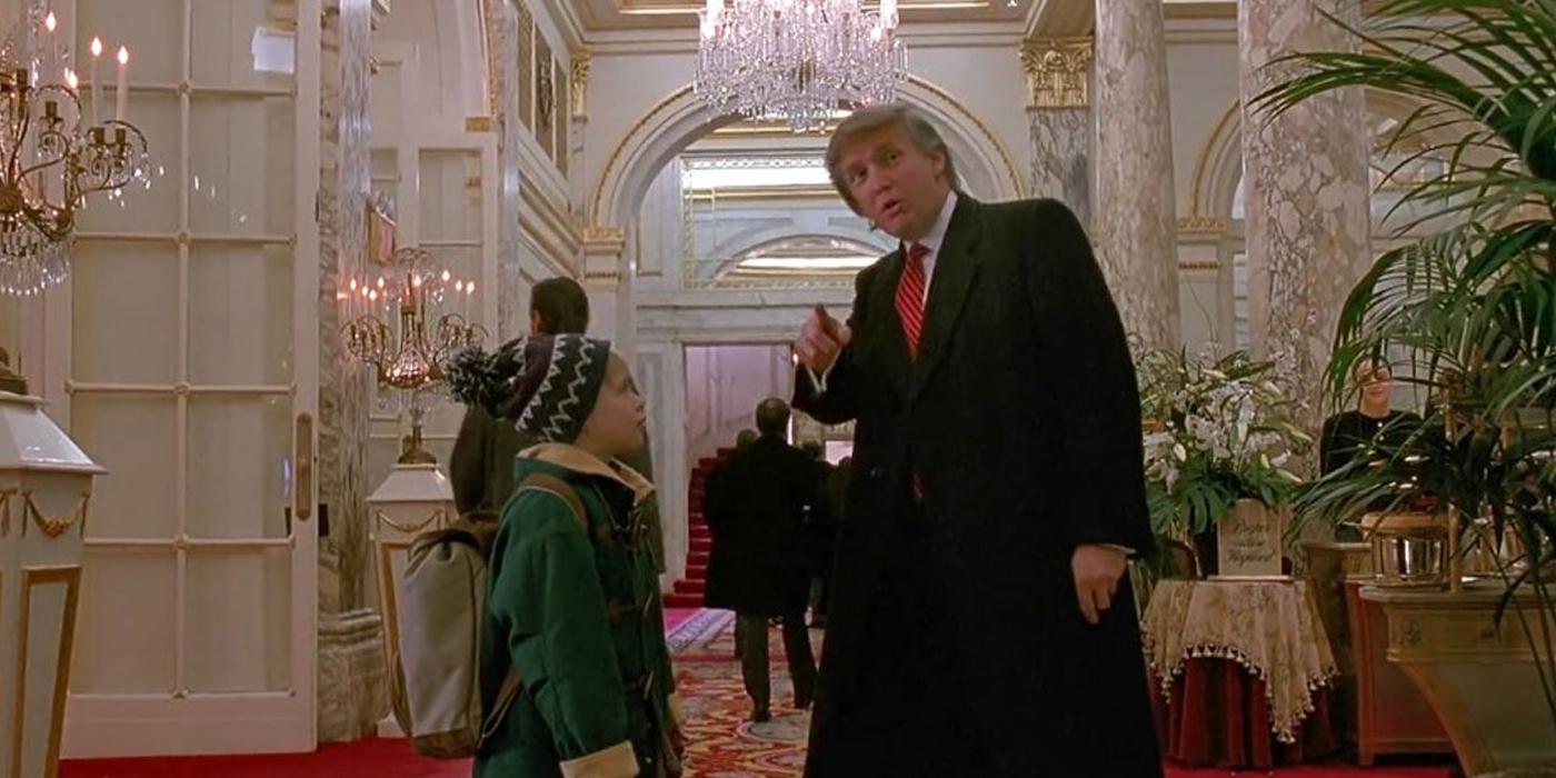 Donald Trump The Movie Home Alone