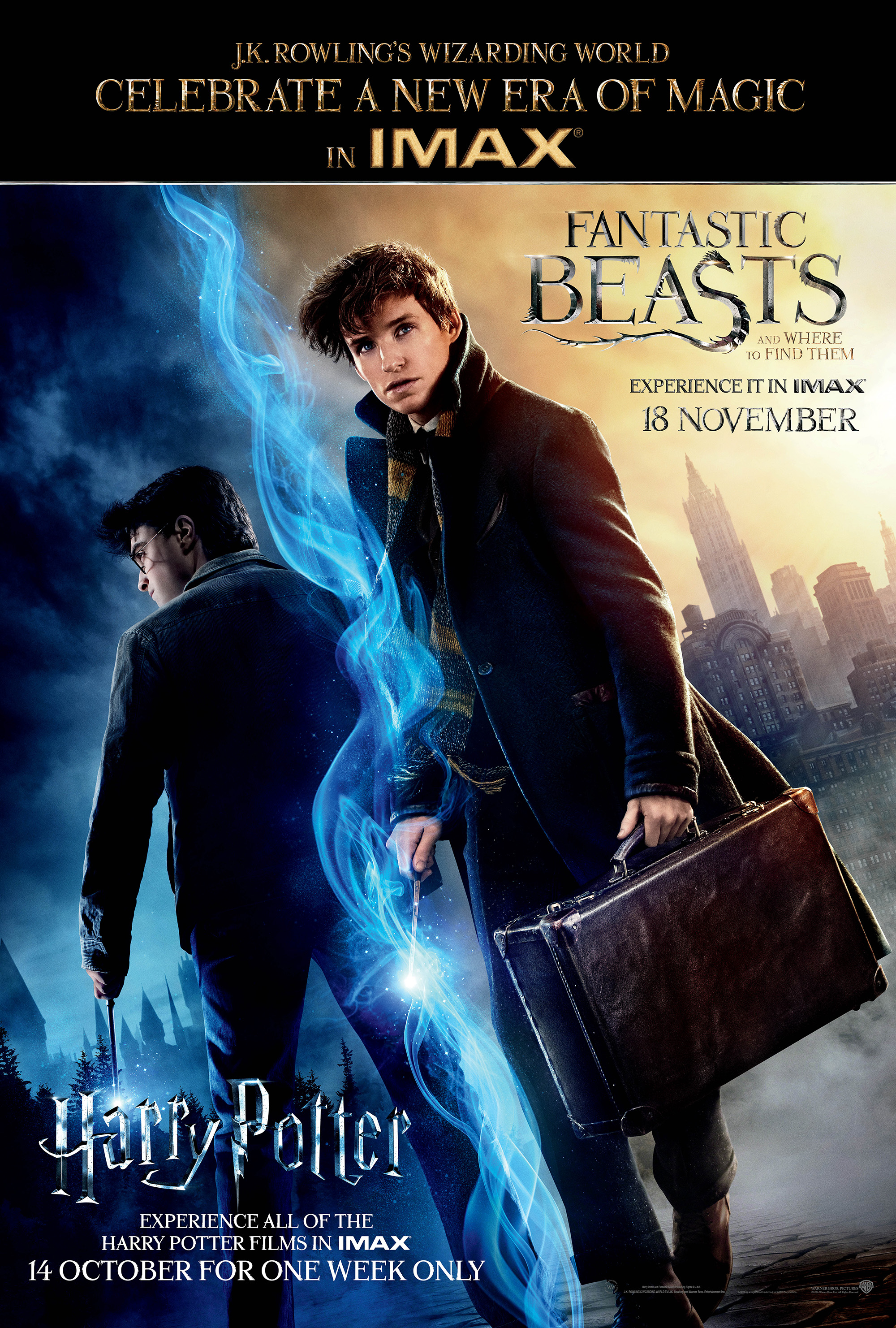 Harry Potter Movies To Get Imax Re Release Ahead Of Fantastic Beasts
