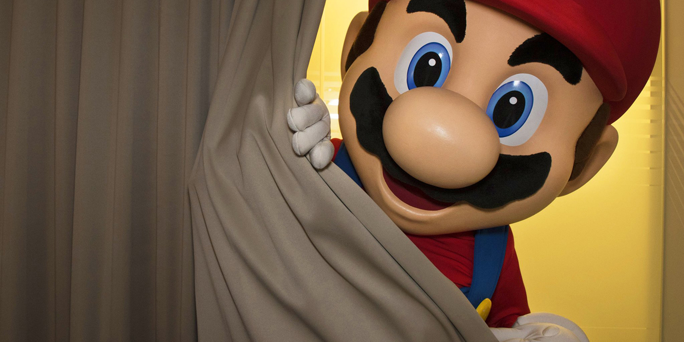 Mario teases the Nintendo NX preview trailer reveal on October 20