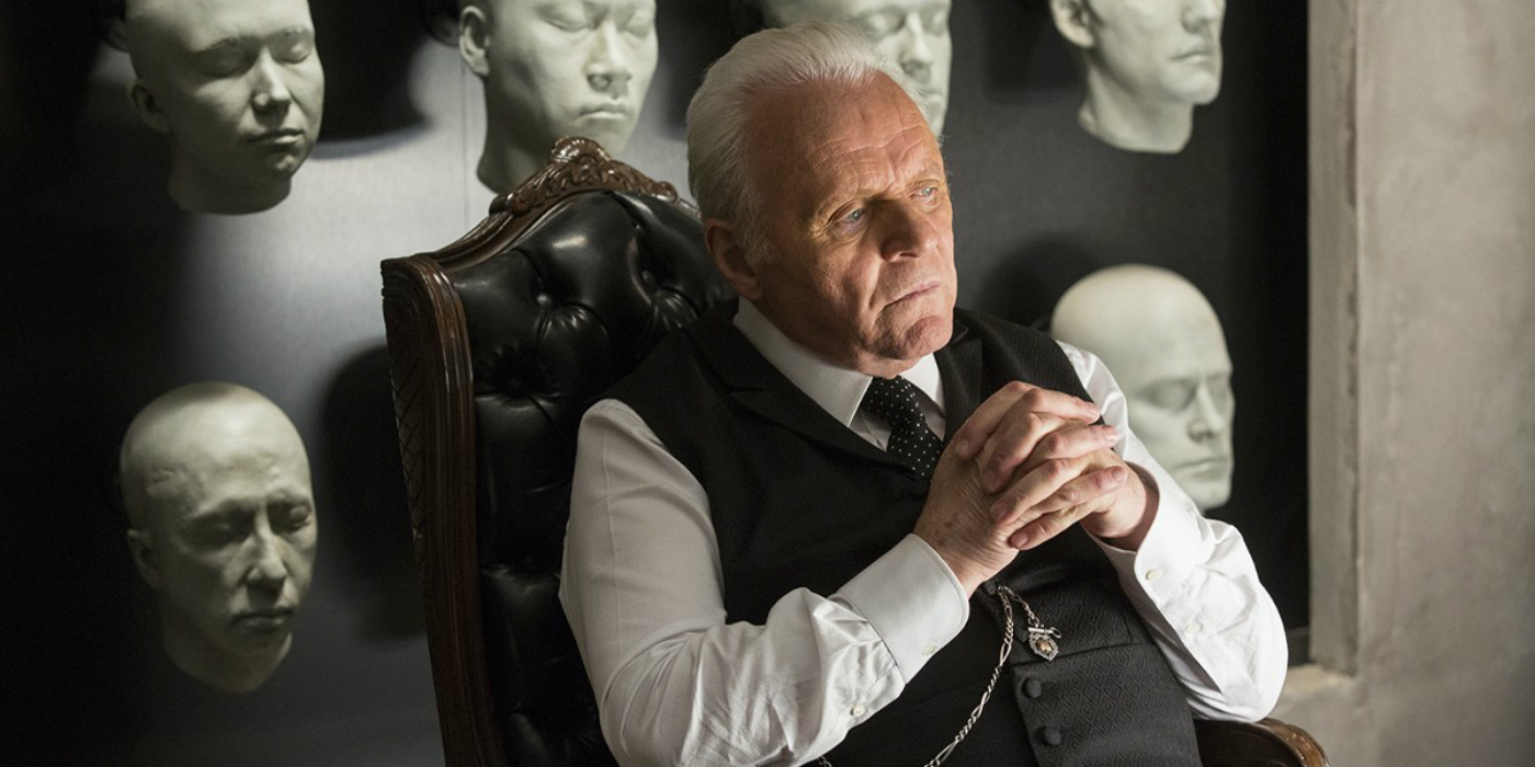 Westworld - Anthony Hopkins and faces