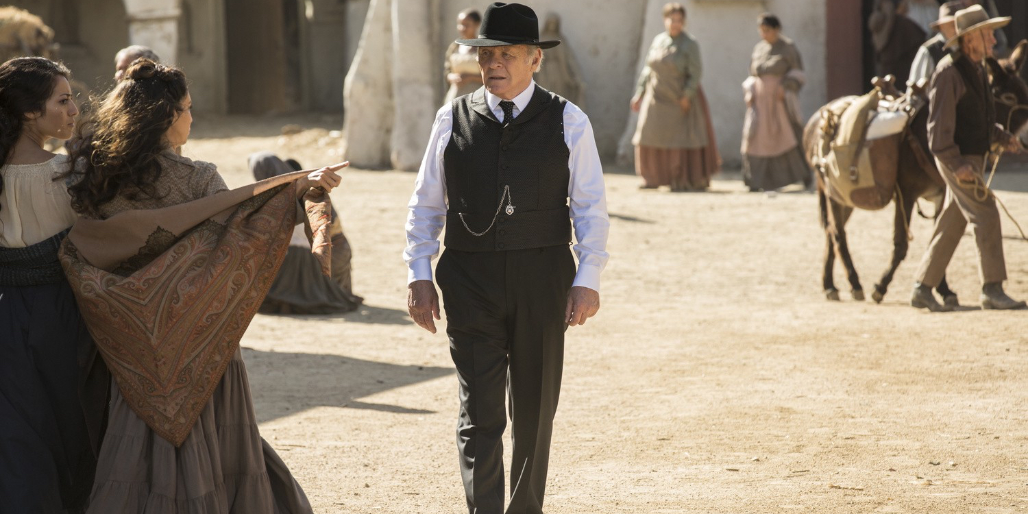 Anthony Hopkins in Westworld Season 1 Episode 6