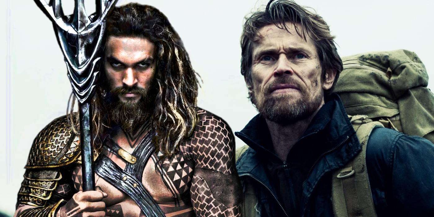 TV and Movie News Willem Dafoe Reveals How Aquaman is