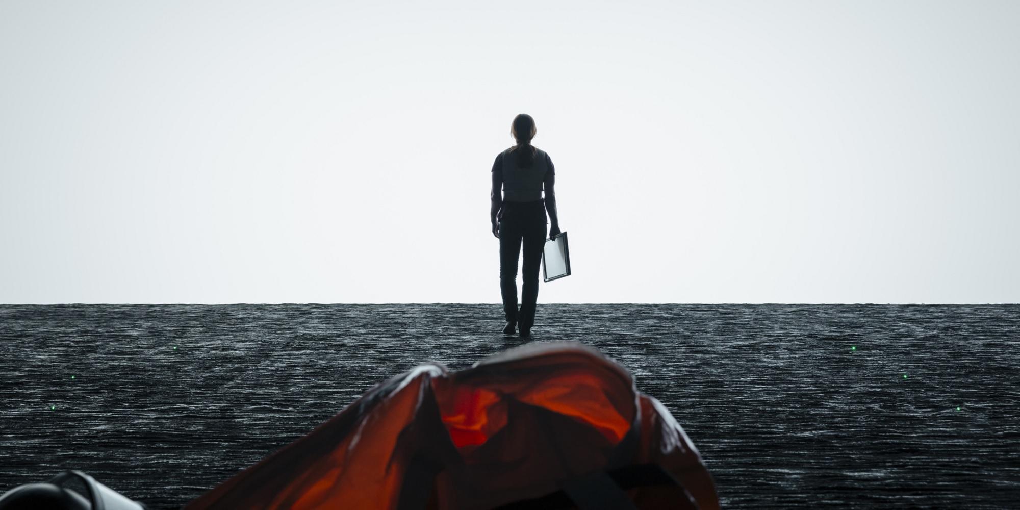 Arrival - Amy Adams on alien ship