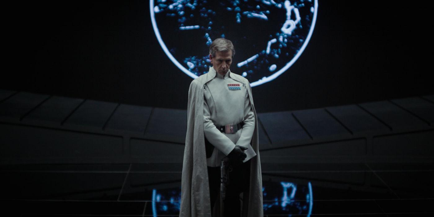Ben Mendelsohn as Orson Krennic In Rogue One - A Star Wars Story