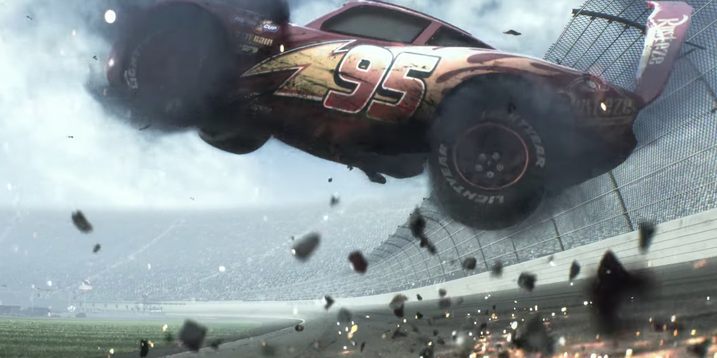 The Hollywood Point Cars 3 Teaser Poster Lightning Mcqueen Is