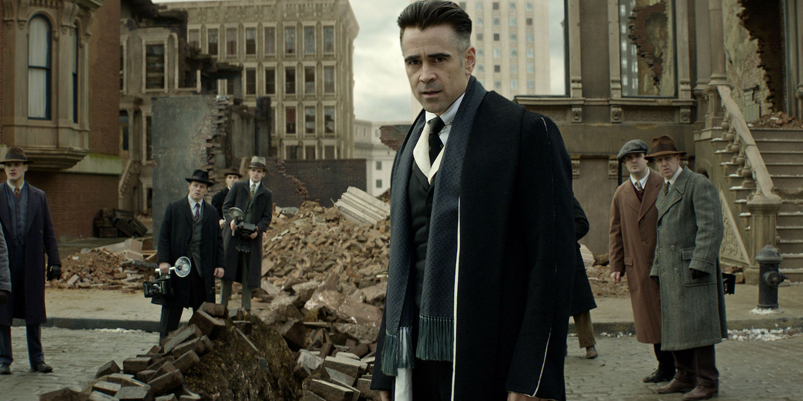 Fantastic Beasts and Where to Find Them Colin Farrell Graves