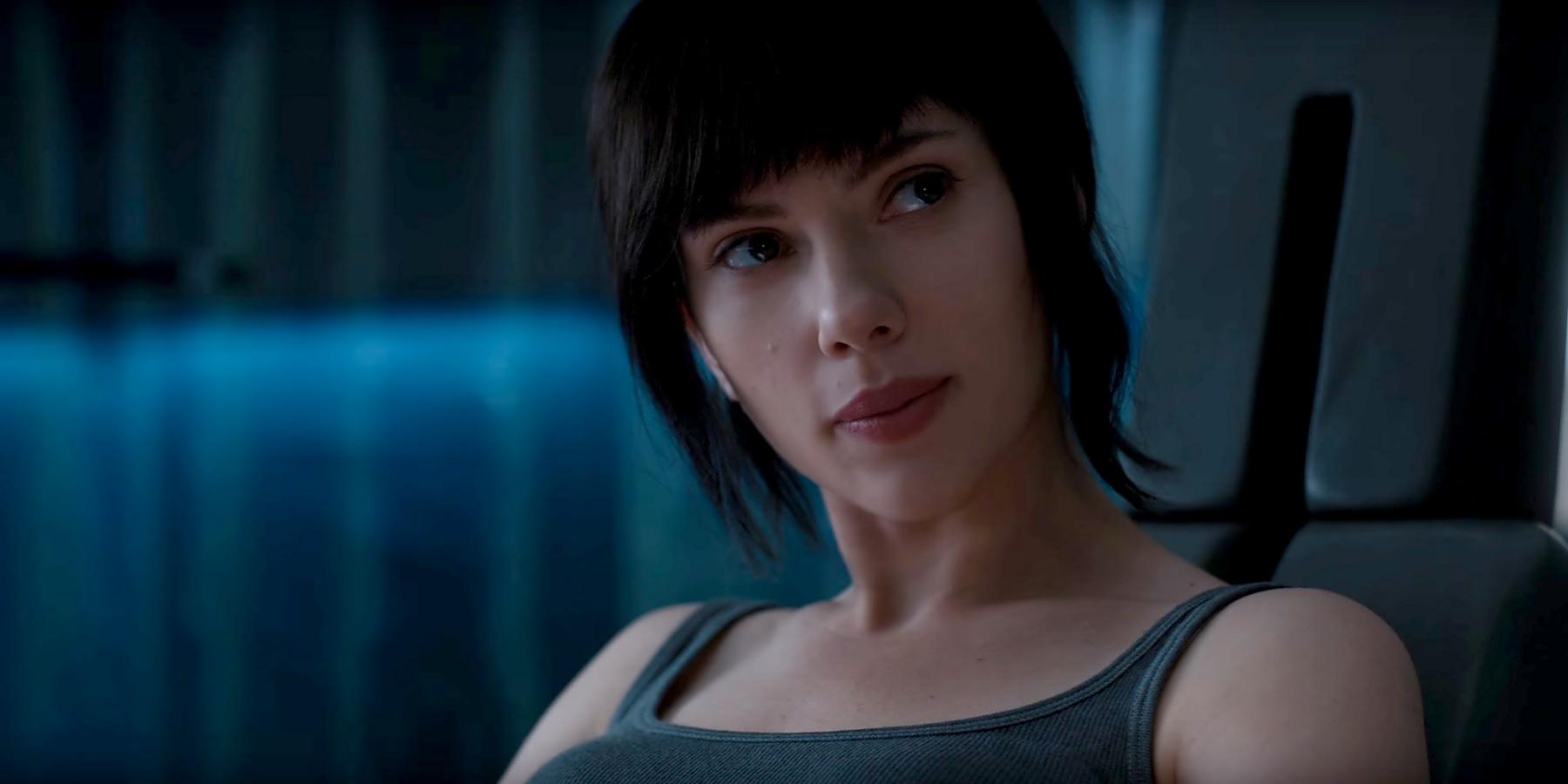 Ghost in the Shell International Trailer: More Major Action Scarlett Johansson Filmography