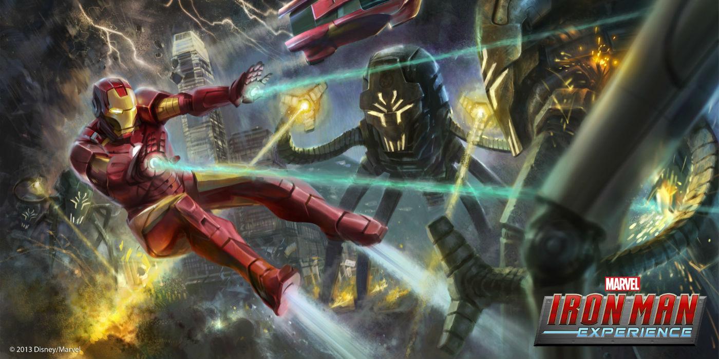 The Iron Man Experience Concept Art