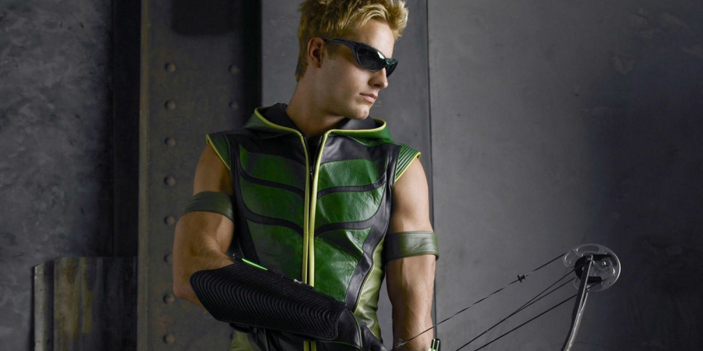 Justin Hartley as Green Arrow in Smallville