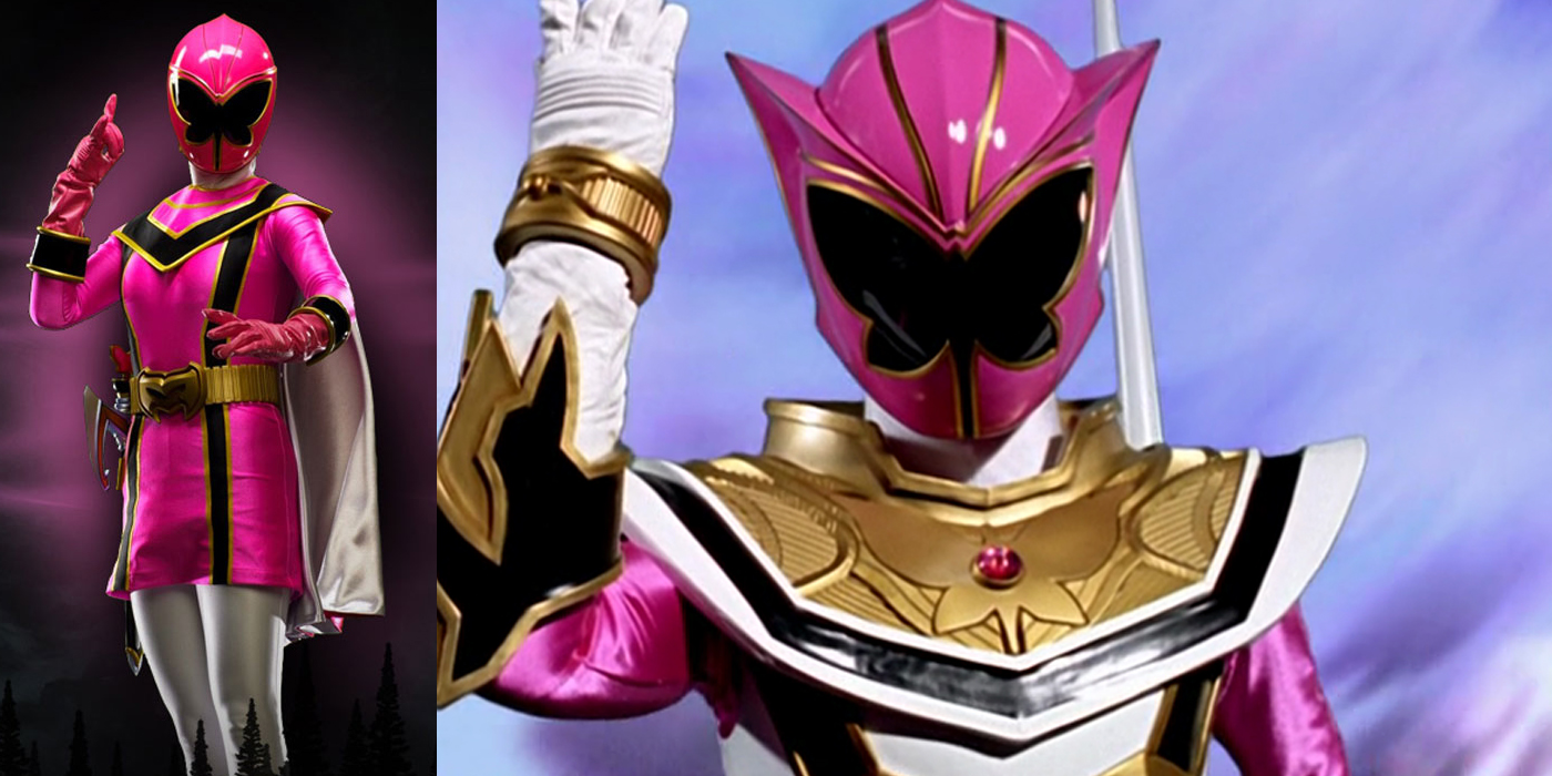 The 16 Greatest Power Rangers Costumes Of All Time Power Rangers Mystic Force Pink Ranger