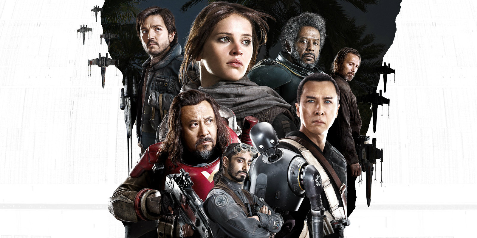 Rogue One Character Poster Star Wars: Rogue One Soundtrack Tracklist Revealed