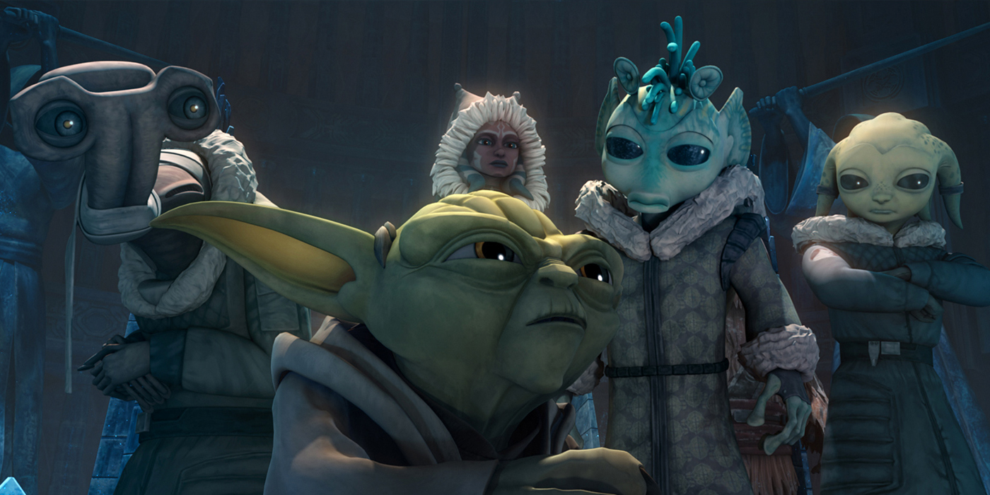 George Lucas Considered Clone Wars TV Spinoff & Younglings ... | 1400 x 700 jpeg 552kB