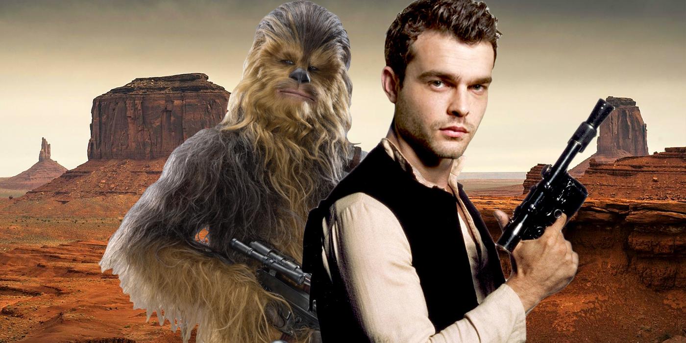 Star Wars Western Han Solo