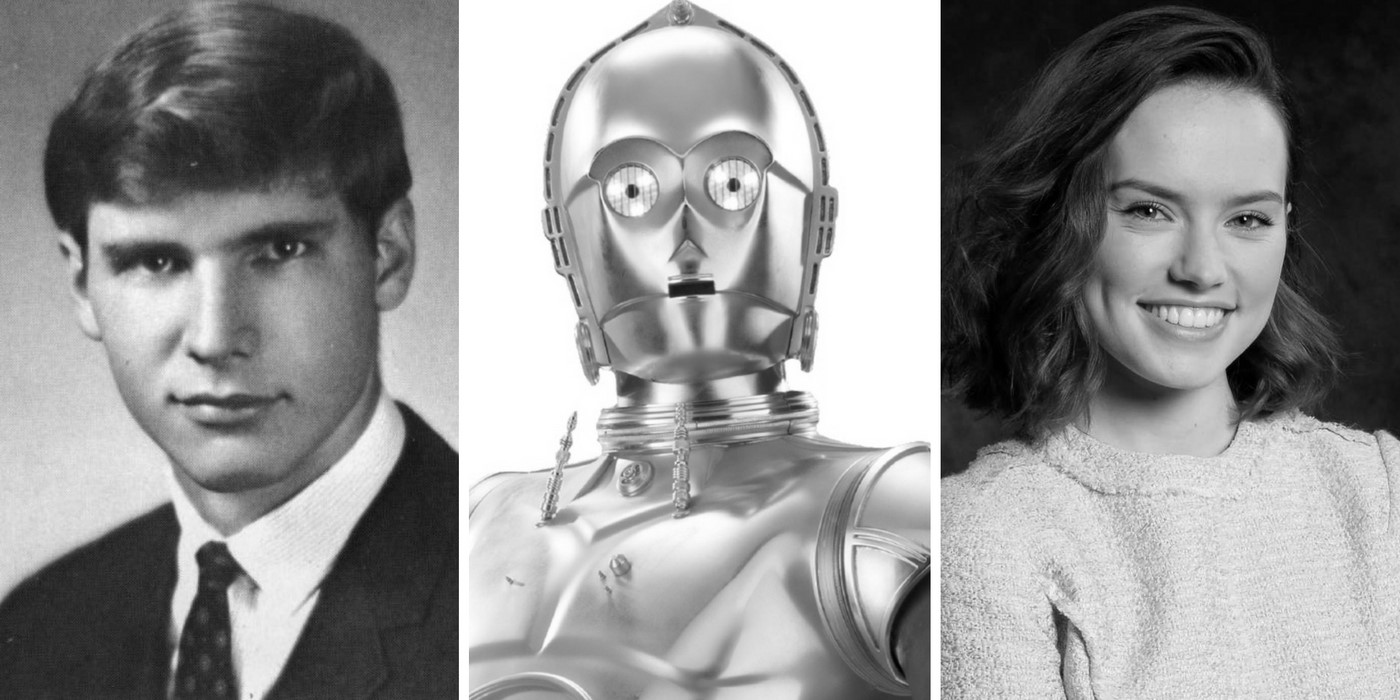 Star Wars Yearbook Photos- Harrison Ford, C-3PO, Daisy Ridley