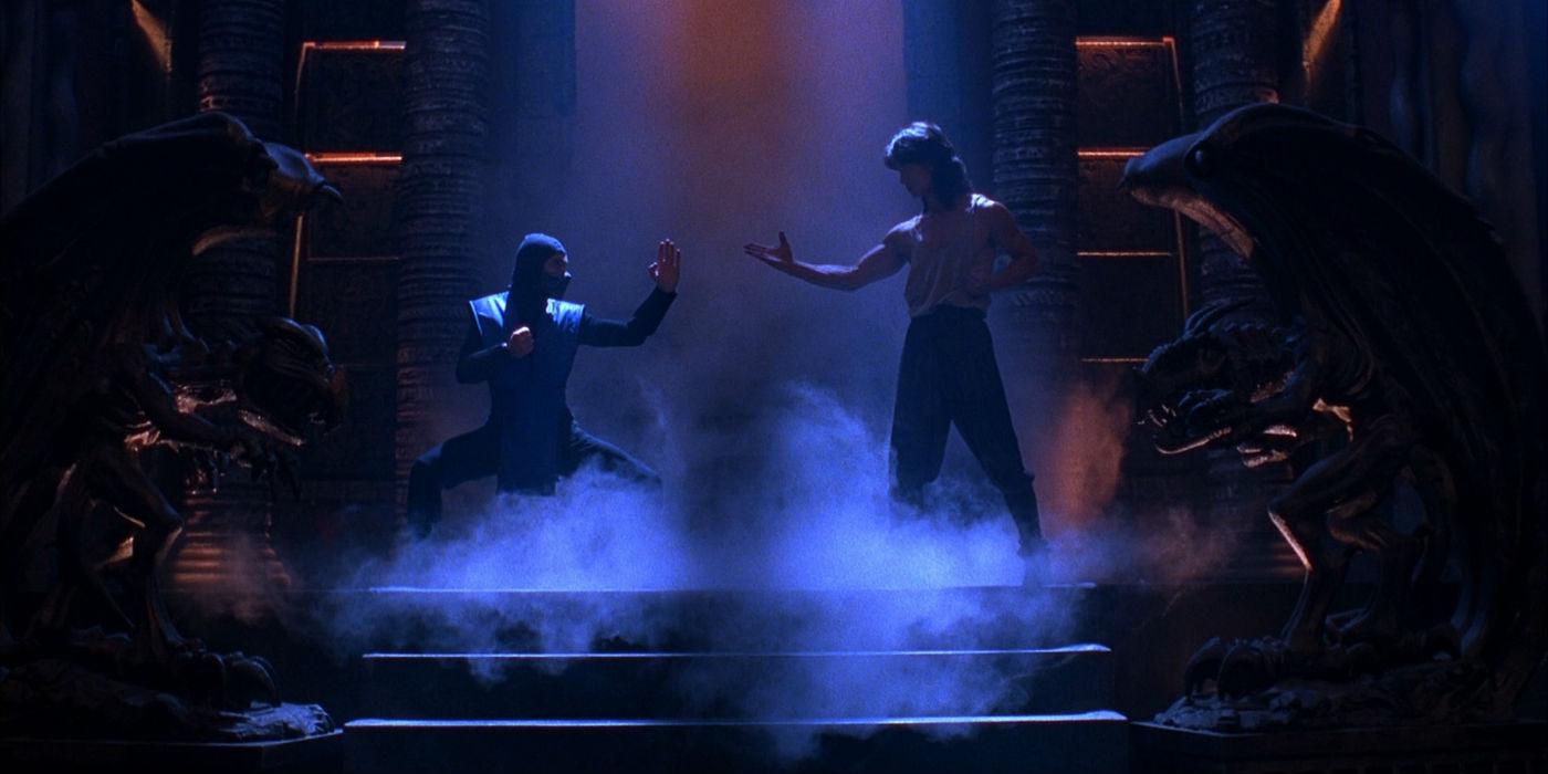 Sub Zero and Liu Kang in Mortal Kombat Mortal Kombat Reboot Taps Director Simon McQuoid