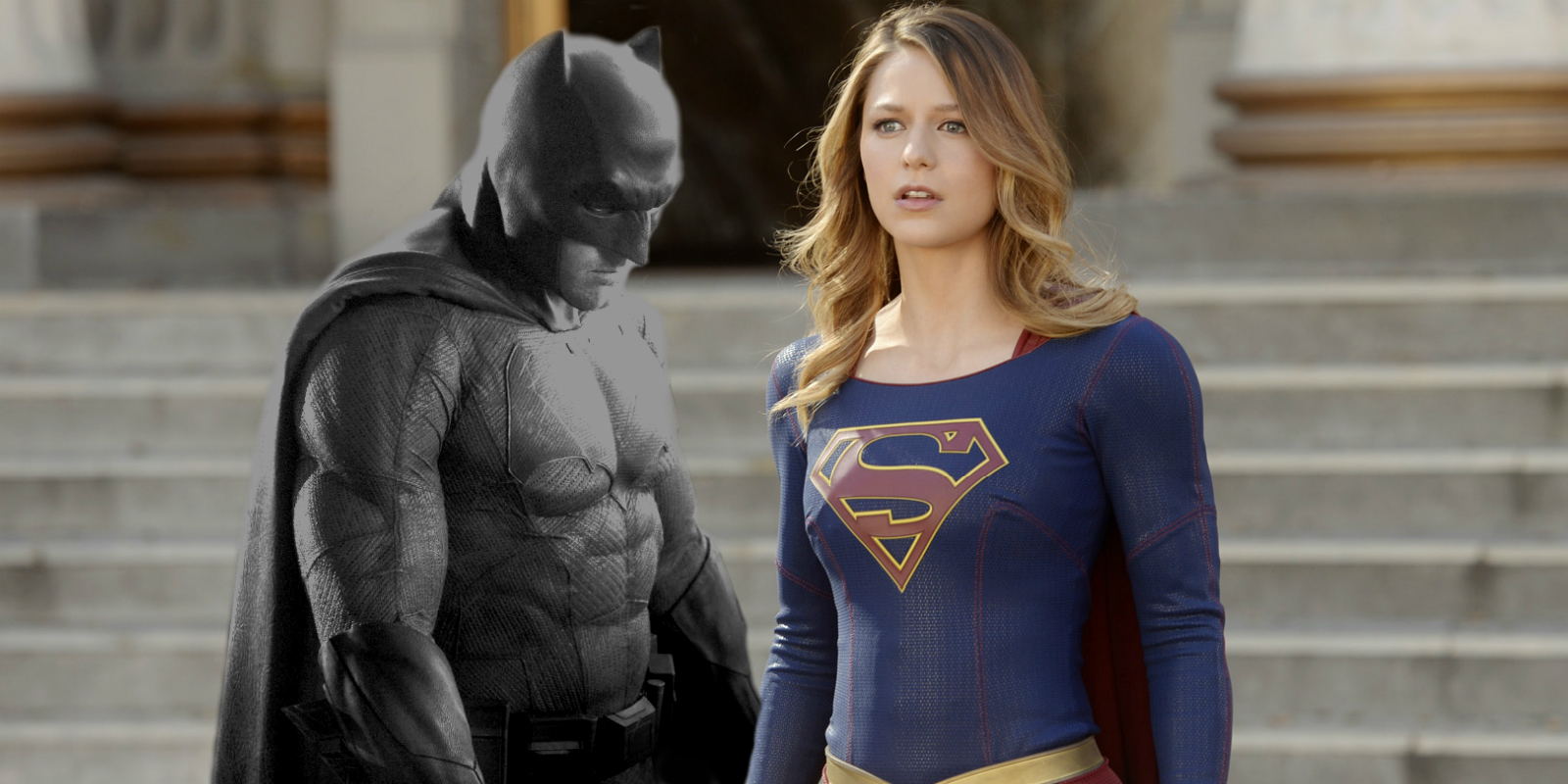 batman and supergirl This article originally appeared in vulture cbs's supergirl and last weekend's  tentpole movie batman v superman: dawn of justice may share.