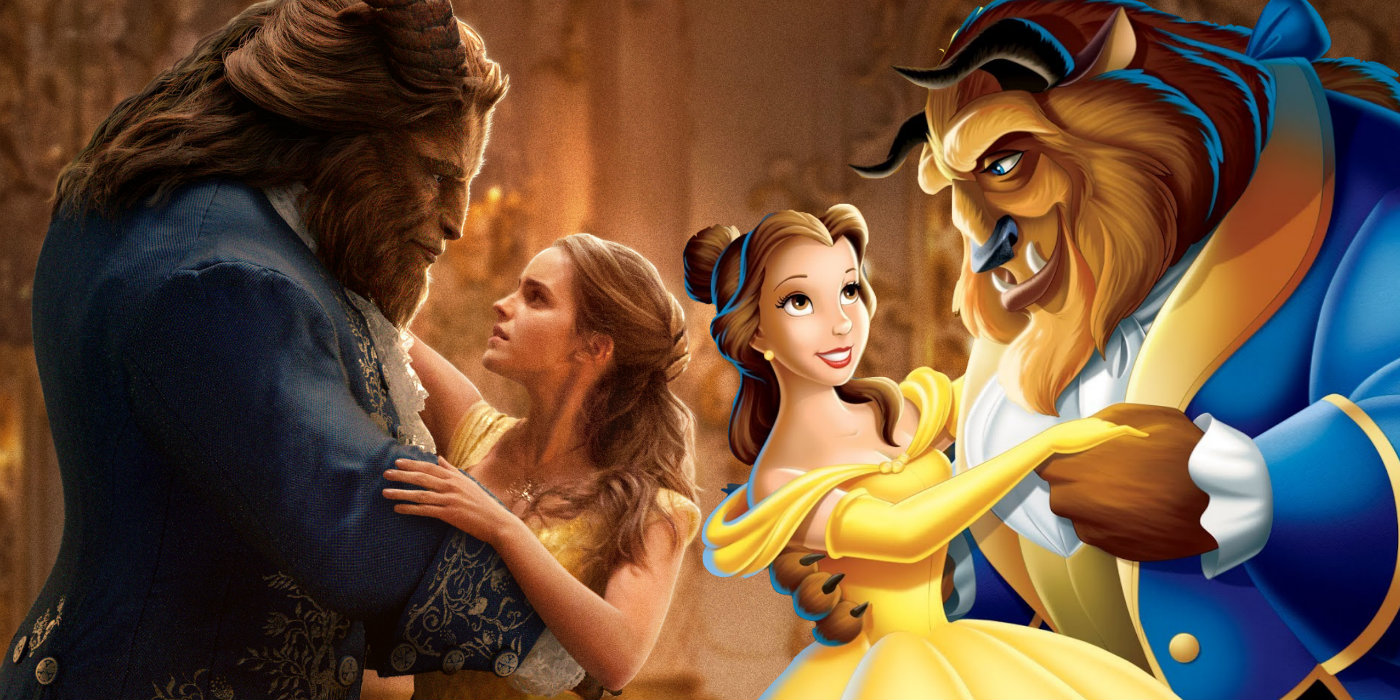 Beauty and the Beast Trailer #2 Compared to the Animated Version